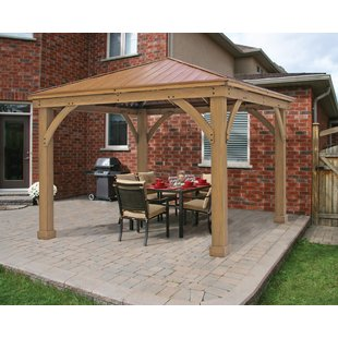Outdoor Wood Gazebo | Wayfair