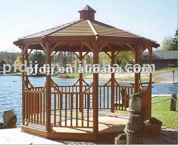 Wood Gazebo Canopy