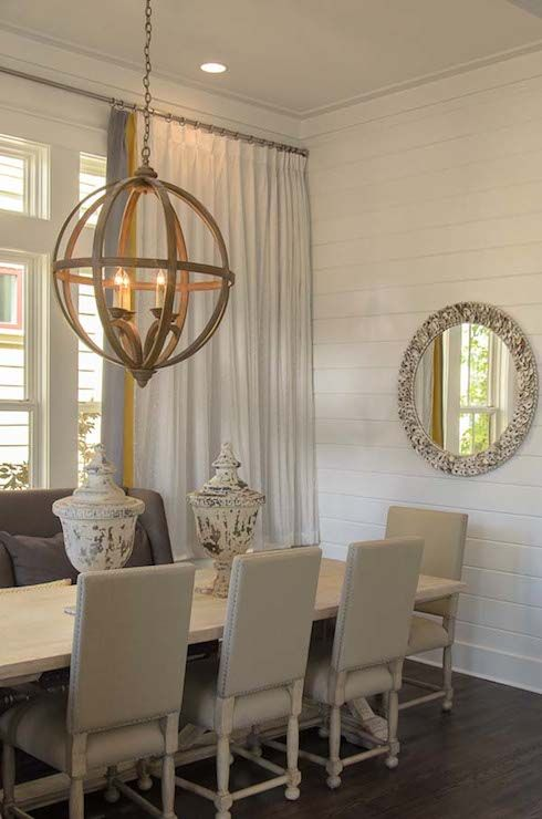 Romair Homes - dining rooms - Axel Orb Chandelier, cottage dining