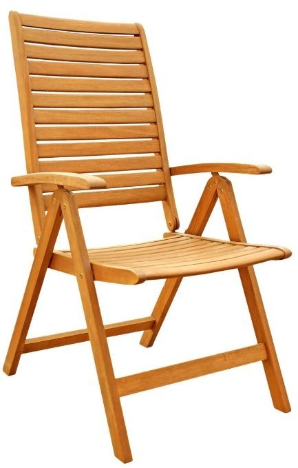 Outdoor Wood Folding Arm Chair - Ideas on Foter