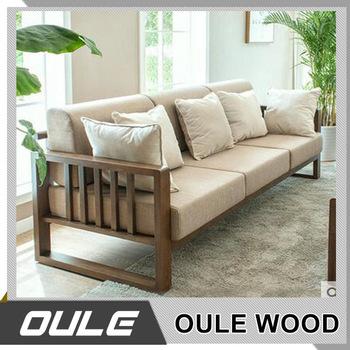 New Design Wood Frame Sofa Set With Sofa Cushion For Sale - Buy Wood