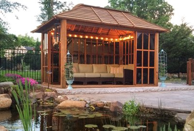 Wood Pergolas & Pavilions - Built to Last | Forever Redwood