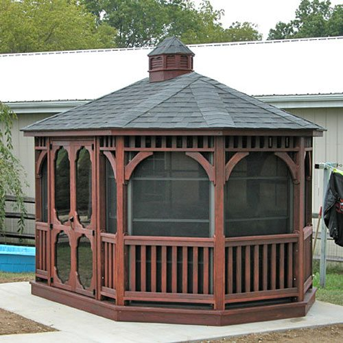 Amish-Built Gazebo Kits | Country Lane Gazebos