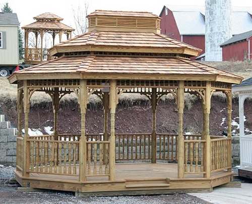 Do It Yourself Gazebo Kits For Sale Make For a Great Project