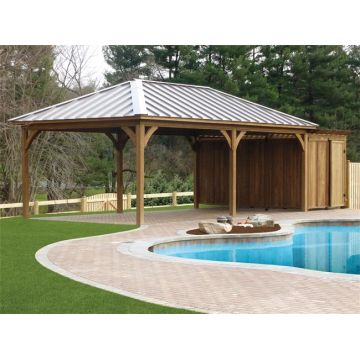 Customized outdoor garden wooden gazebo kits | Global Sources