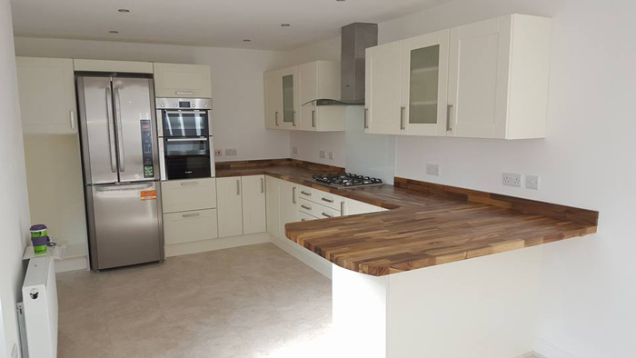 Customer Kitchen Wooden Worktop Gallery - Worktop Express