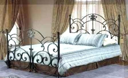 Rod Iron Bed Frame Rustic Beds Metal Bedroom Wrought Classy Ikea