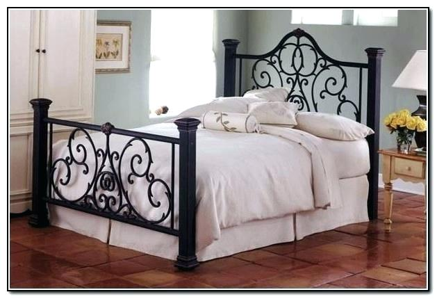 Exquisite Rod Iron Bed Frames Design And Kids Room Decoration Black