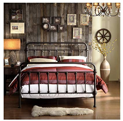 Wrought Iron Bed Frames Queen Size Design